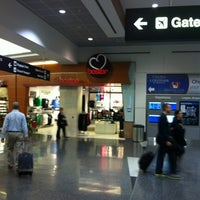 Photo taken at Terminal A by Machelle K. on 10/31/2012
