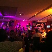 Photo taken at Manhattan Café Theatro by Talyane M. on 2/3/2013