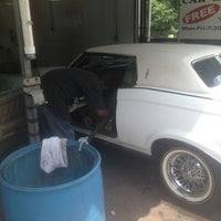 Photo taken at vincennes car wash by Geno G on 6/16/2013