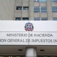 Photo taken at Sede Central Dirección General de Impuestos Internos (DGII) by Matt G. on 2/19/2014