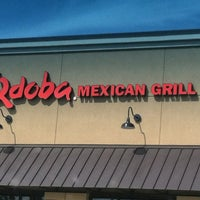 Photo taken at Qdoba Mexican Grill by Randi V. on 4/4/2013