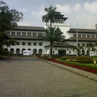 Photo taken at Kantor Gubernur Jawa Barat by Dwi S. on 4/6/2014