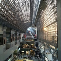 Photo taken at Kyoto Station by SungKon H. on 4/22/2013