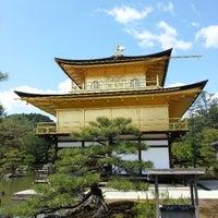 Photo taken at Kinkaku-ji Temple by SungKon H. on 4/22/2013