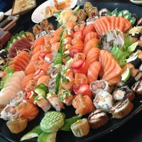 Photo taken at Niwa Sushi by Mariana Y. on 3/14/2013