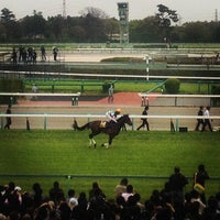 Photo taken at Nakayama Racecourse by Yoshiki I. on 4/15/2013
