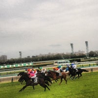 Photo taken at Nakayama Racecourse by Yoshiki I. on 4/14/2013