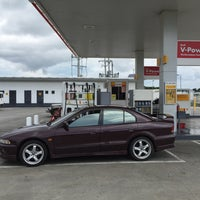 Photo taken at Shell by Peter O. on 9/27/2015