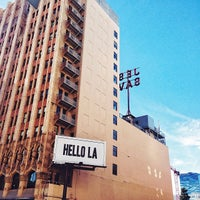 Снимок сделан в Ace Hotel Downtown Los Angeles пользователем Matt D. 12/27/2013