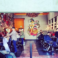 Photo taken at Shorty's Barbershop by Matt D. on 3/9/2013