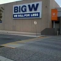 Photo taken at Big W by Triya P. on 4/21/2013