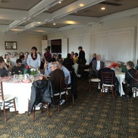 Photo taken at Bellport Country Club by Tom on 3/15/2014