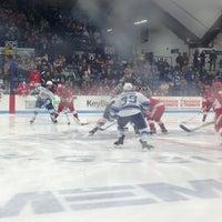 Photo taken at Alfond Arena by Karen D. on 2/16/2013