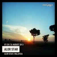 Photo taken at Alor Setar by Fazliana M. on 8/23/2013