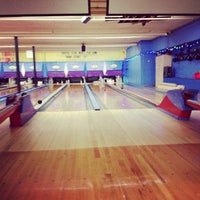 Photo taken at Stoneleigh Duckpin Bowling Center by Mark F. on 12/14/2012