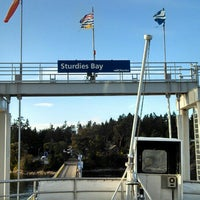 Photo taken at Sturdies Bay Ferry Terminal by Karl K. on 9/17/2013