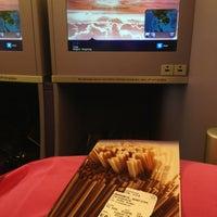 Photo taken at Thai Airways Flight TG 676 BKK-NRT by Pangrum K. on 4/3/2013