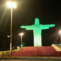 Photo taken at Praça Cristo Redentor by André Jesus S. on 2/22/2013