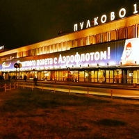 Photo taken at Pulkovo International Airport (LED) by Александр on 11/23/2013