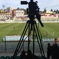 Photo taken at Stadio Tommaso Fattori by Matteo M. on 3/16/2014
