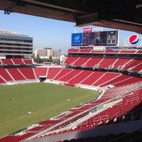 9/4/2014 tarihinde Chris M.ziyaretçi tarafından Levi's Stadium'de çekilen fotoğraf