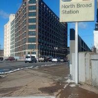 Photo taken at SEPTA North Broad Station by Veronika on 2/9/2013