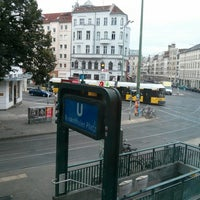 Photo taken at Rosenthaler Platz by Andreas S. on 7/25/2013
