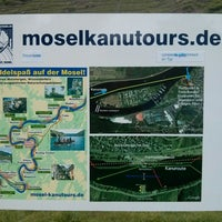 Photo taken at Mosel Kanutours Ernst by Andreas S. on 6/1/2014