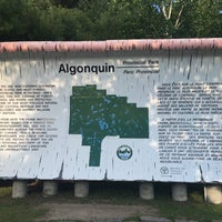 Photo taken at Algonquin Provincial Park - West Gate by Andreas S. on 7/22/2016