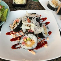 Photo taken at Monstera Sushi & Noodles by Dave D. on 5/19/2017