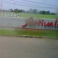 Photo taken at Karawang by Trivena S. on 1/31/2013