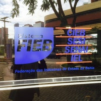Foto tirada no(a) FIEB - Federação das Indústrias do Estado da Bahia por Pablo B. em 5/20/2015