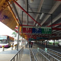 Photo taken at Jurong East Temporary Bus Interchange by £☻℃☻ r. on 1/22/2013