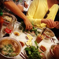 Photo taken at Pho Dong-Huong by Mayou B. on 10/20/2013