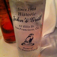 Photo taken at John's Grill by Gary B. on 3/11/2013
