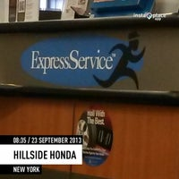 Photo taken at Hillside Honda by Masayo K. on 9/23/2013