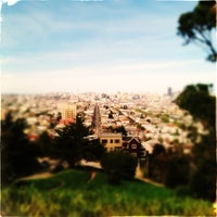 Photo taken at Bernal Heights Park by Mario E. on 3/23/2013