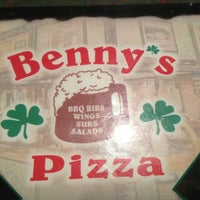 Photo taken at Benny's Pizza by Dawn S. on 3/17/2013