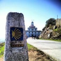 Photo taken at Faro de Fisterra by Tedi R. on 10/7/2013