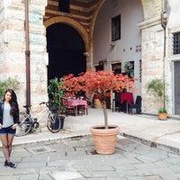 Photo taken at Ostello della Gioventù Villa Francescatti by Şeyma M. on 4/18/2014