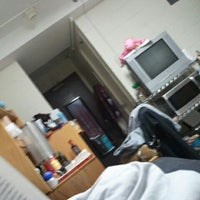 Photo taken at NYU Weinstein Residence Hall by Elise T. on 2/4/2013