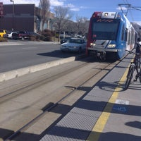 Photo taken at TRAX Trolley Square by Adriana W. on 2/21/2014