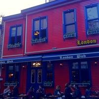 Photo taken at London Pub by Necmi K. on 4/19/2014