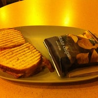 Photo taken at Panera Bread by Lou M. on 2/19/2013