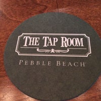 Photo taken at The Tap Room at Pebble Beach by Renee J. on 7/5/2016