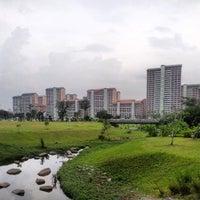 Photo taken at Bishan - Ang Mo Kio Park by Kay P. on 3/31/2013