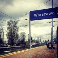 Photo taken at Warsaw West Railway Station by Lukasz G. on 5/4/2013
