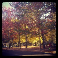 Photo taken at Nelson Park by Ruxandra F. on 10/8/2012