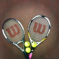 Photo taken at 19 Mayıs Üniversitesi Tenis Kortları by Burcu G. on 1/7/2014