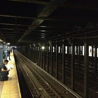 Photo taken at MTA Subway - 8th St/NYU (R/W) by Nate F. on 7/25/2013